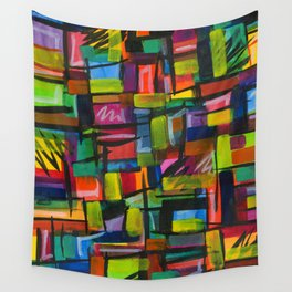 show your colors Wall Tapestry
