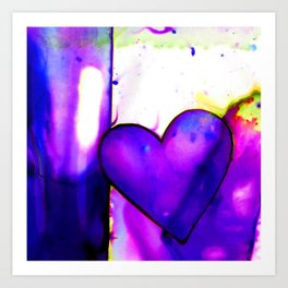 Heart Dreams 1I by Kathy Morton Stanion Art Print