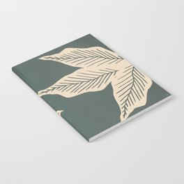 Surrounded by Plant Lovers - Green & Beige Notebook