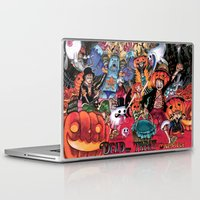 one piece Laptop & iPad Skins featuring Halloween in One Piece by Borsalino