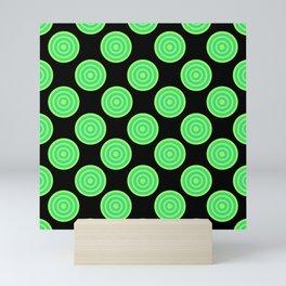 Green Apple Lollies 2 Mini Art Print