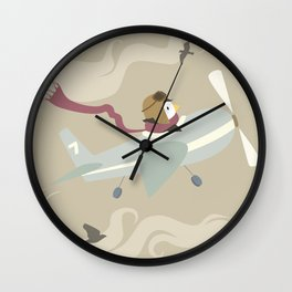 Finally Flying Wall Clock