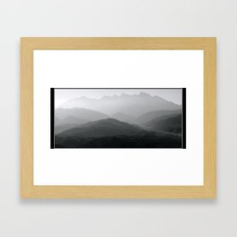 Mist Over Mastura Framed Art Print