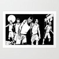 Spurs of the Living Dead Art Print