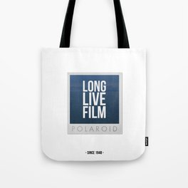 Long Live Film  Tote Bag