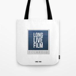 Long Live Film  Tote Bag