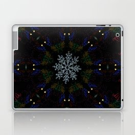 Continuous Christmas Lights Laptop & iPad Skin