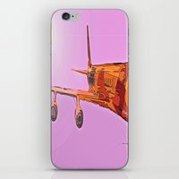 aviation iPhone & iPod Skins featuring AVIATION by PALEOMODERN