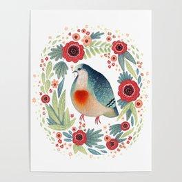 Fruit Dove I Poster