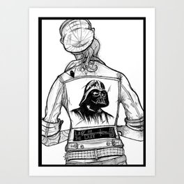 Roth-Vader City Rockers Art Print
