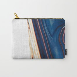 Geode Detail, Navy Blue Carry-All Pouch