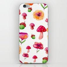 Botanical garden - watercolor iPhone & iPod Skin
