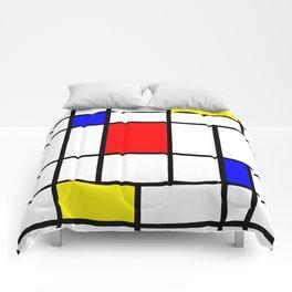 Mondrian #63 Comforters