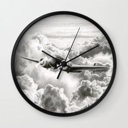 Ghost Flight- Amelia Earhart  Wall Clock