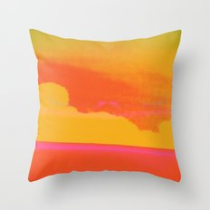 Signs in the Sky Collection - Rising Sun Throw Pillow
