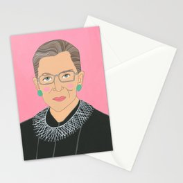 Ruth Bader Ginsberg Stationery Cards
