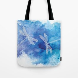 Dragon Flies Tote Bag