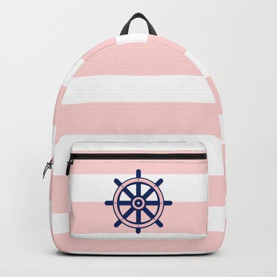 AFE Nautical Helm Wheel 2 Backpack