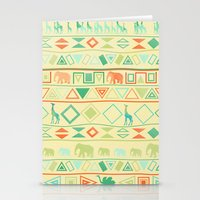 tribal Stationery Cards featuring Tribal by Sunshine Inspired Designs
