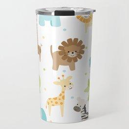 Jungle Animals Travel Mug