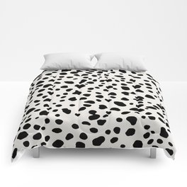 Polka Dots Dalmatian Spots Comforters