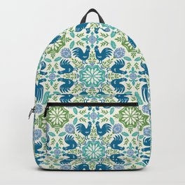 Blue Roosters Backpack