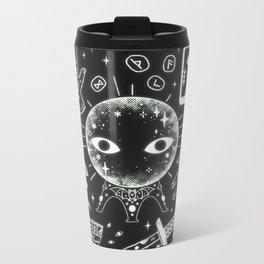 I See Your Future: Glow Metal Travel Mug