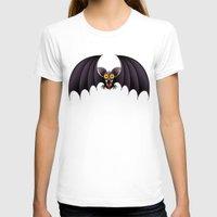 cartoon T-shirts featuring Bat Cartoon by BluedarkArt