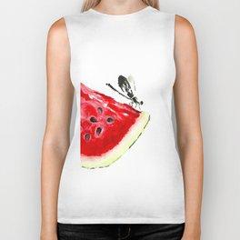 Water Melon Biker Tank