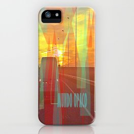 Opaque world iPhone Case