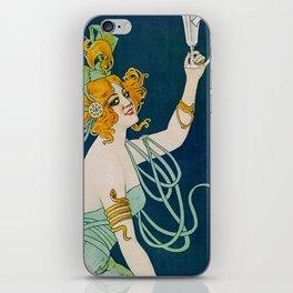 Vintage Absinthe Blanqui Ad iPhone Skin