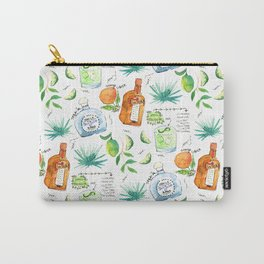 Classic Margarita Cocktail Recipe Carry-All Pouch