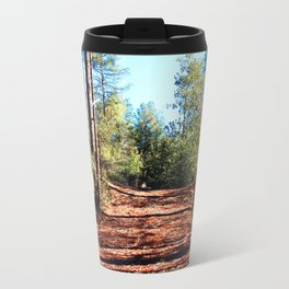 The Parting of Ways in Prescott National Forest Travel Mug