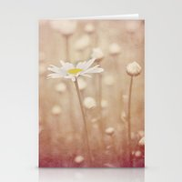 daisies Stationery Cards featuring Daisies by KunstFabrik_StaticMovement Manu Jobst