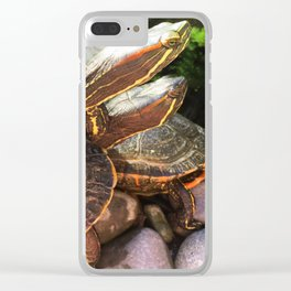 Triple Stack Clear iPhone Case