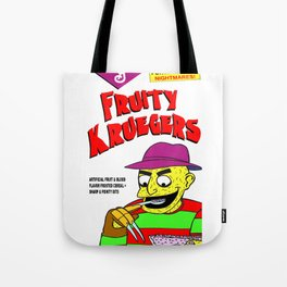 Fruity Kruegers: A Nightmare at Breakfast! Tote Bag