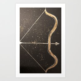 Let Your Arrow Fly Art Print
