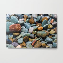 Pebble beach 3 Metal Print