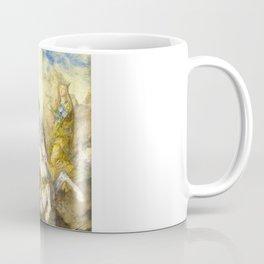"Gustave Moreau ""St. George and the Dragon (1869)"" Coffee Mug"
