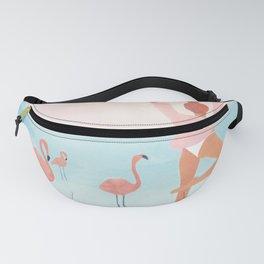 Big Flamingo Fanny Pack
