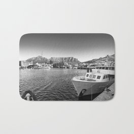 Victoria and Alfred Waterfront in Cape Town, South Africa Bath Mat