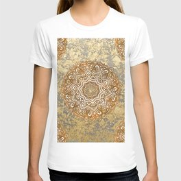 Gold Mandala T-shirt