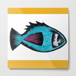 Fishie Fish Metal Print