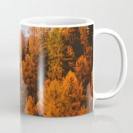 Autumn Pine Trees (Color) Coffee Mug