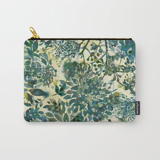 spring time emerald green Carry-All Pouch