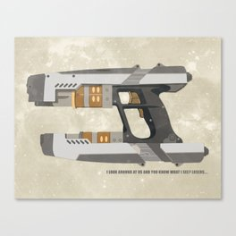 STAR LORD - PETER QUILL Canvas Print