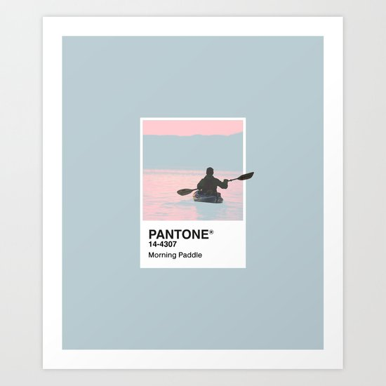 Pantone Series – Paddle by maines