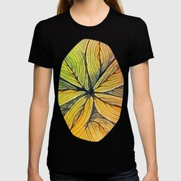 Doodled Aura-Leah Digitized Macro T-shirt