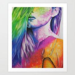 HernameisBanks Art Print