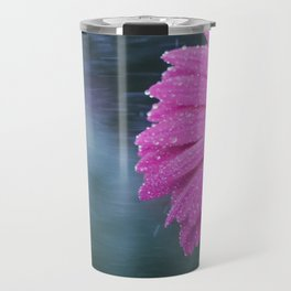 Macro photo of Gerbera flower 9 Travel Mug